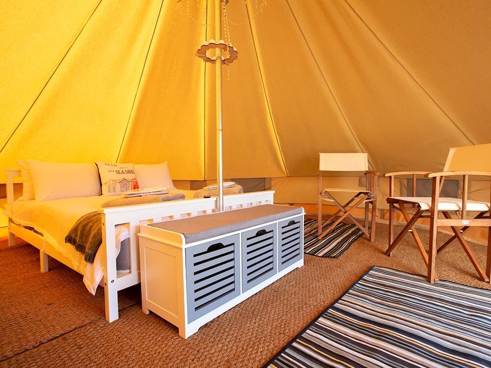Bell Tent Inside 1